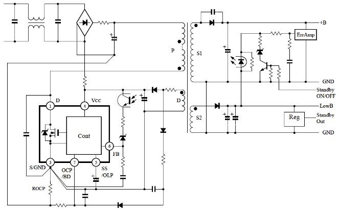 electric circuit picture