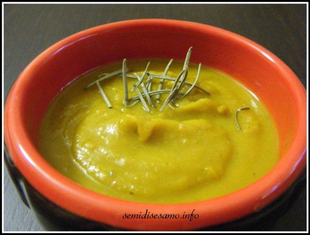 vellutata di zucca e patate