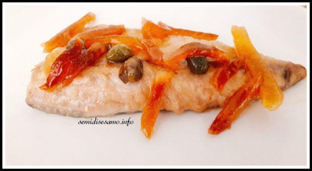 filetti di pesce con limone e zenzero