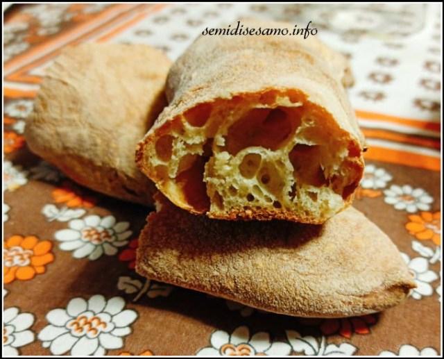 pane senza impasto a lenta lievitazione