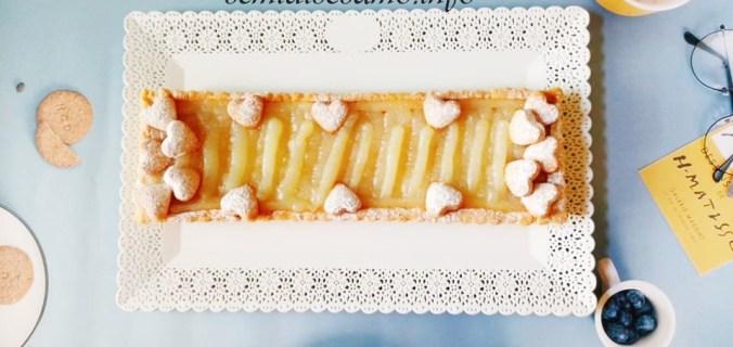 Crostata con frolla all'olio e crema al limone senza uova 2