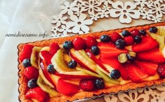 Crostata di frutta con frolla integrale 2