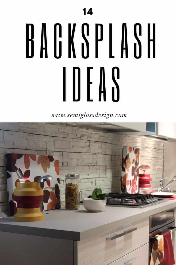 kitchen backsplash ideas besides tile