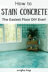 The Beginner's Guide to DIY Stained Concrete, A Step by ...