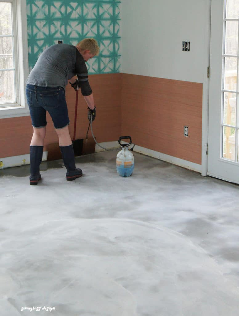 The Beginners Guide to DIY Stained Concrete A Step by
