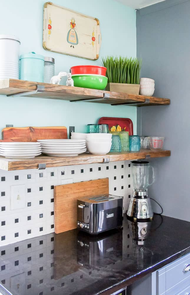 kitchen shelf brackets tuscan design how to install that mimic floating shelves learn love the look of