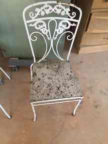 Paint Wrought Iron Furniture Easy