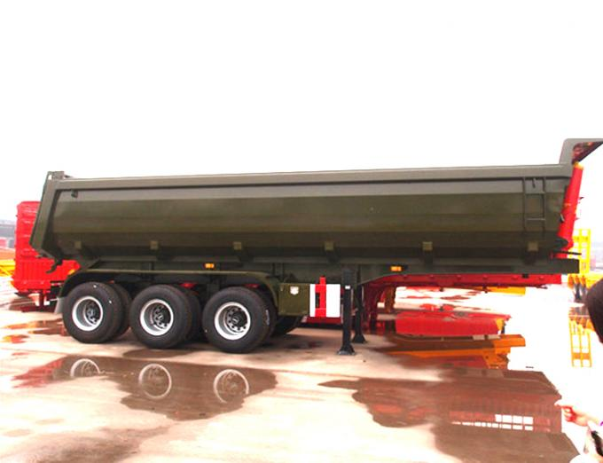semi trailers for sale in germany spark plug wiring diagram chevy 4 3 v6 triple axles 60 - 80 ton construction dump trailer hydraulics , sand dumping