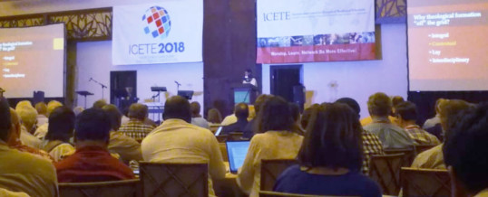 "SENDAS participates in the ICETE Conference in Panama – ""The Sacred-Secular Division"""