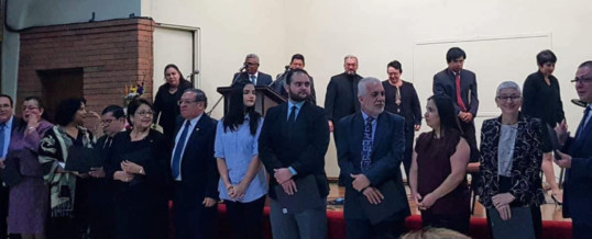 SENDAS faculty and staff ordained in Costa Rica