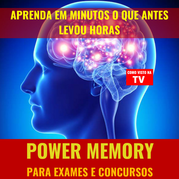 Power Memory Para Exames e Concursos