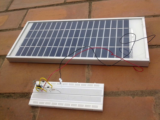 This Solar Powered Fence Charger Circuit Electronic Circuit Projects