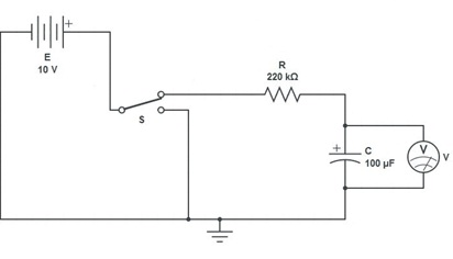 To Determining the Time Constant for an RC Circuit