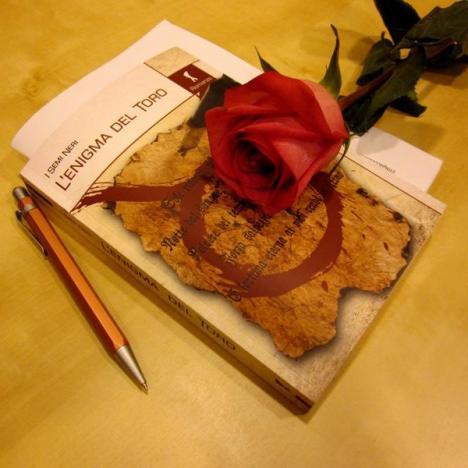 """2014.03.02 – """"L'enigma del toro"""" alla Biblioteca di Concordia sulla Secchia (Mo)"""