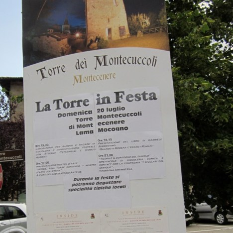 2014.08.08 – Partecipazione dei Semi Neri al Concerto al Castello di Montecuccolo, Pavullo (Mo)