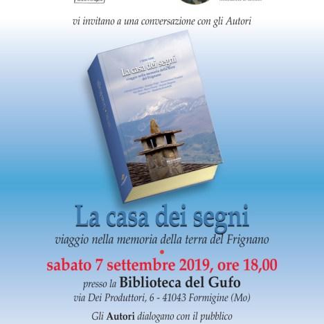 Sabato 21 settembre, presentazione di C'ARABESA, di Andrea Pini