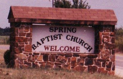 Spring Baptist Church - Sasawka, OK