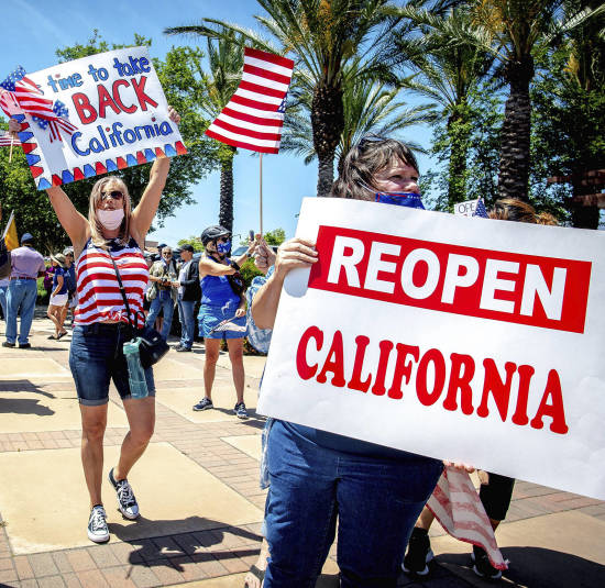 Gov. Newsom Announces California Opening & Police to End Carotid Restraints #GavinNewsom