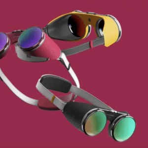 Givenchy x PDF Haus VR Concept Goggles Story Graphic