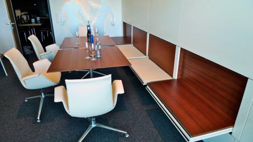 VIP-Lounge Einrichtung