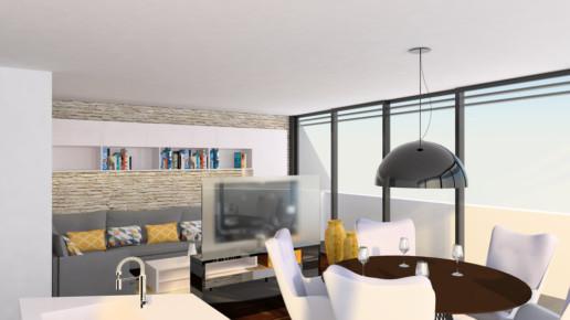 Wohnungsumbau Planung