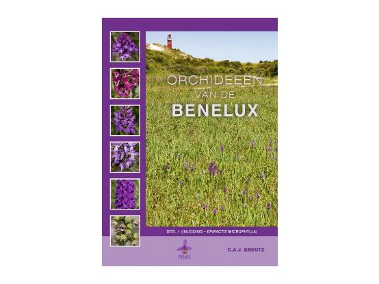 """Nieuw 2-delig boek """"Orchideeën van de Benelux"""" van C.A.J.Kreutz."""