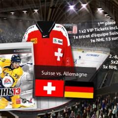 Concours NHL 13 – Swiss Ice Hockey