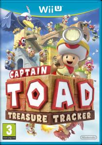 Captain Toad Treasure Tracker WiiU Cover