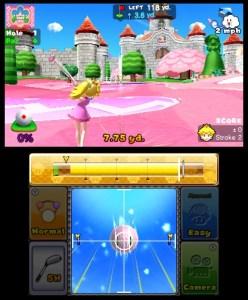 Mario Golf World Tour c'est rose3DS