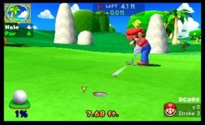 Mario Golf World Tour sur le green 3DS