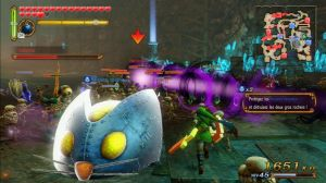 Hyrule warriors WiiU bordel à l'écran