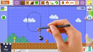 Mario Maker Wiiu stylet