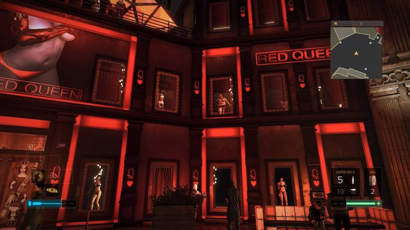 Red Lights Deus Ex PS4