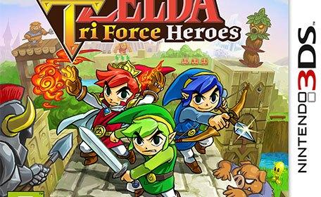Amis vendus séparément [The Legend of Zelda: Tri Force Heroes, 3DS]