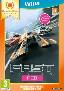 Fast Racing Neo Wii U cover