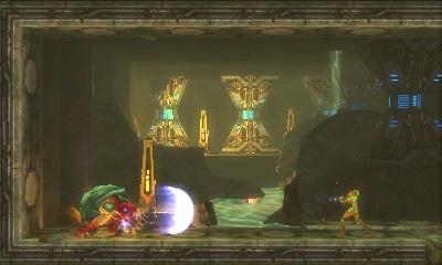 Metroid Samus returns 3DS boss
