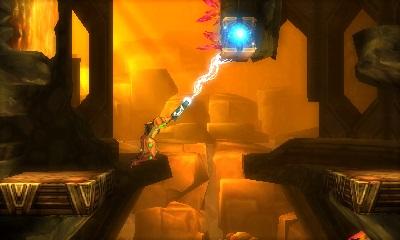 Metroid Samus returns 3DS objets