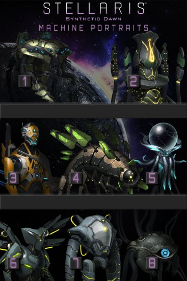 copains Stellaris: Synthetic Dawn