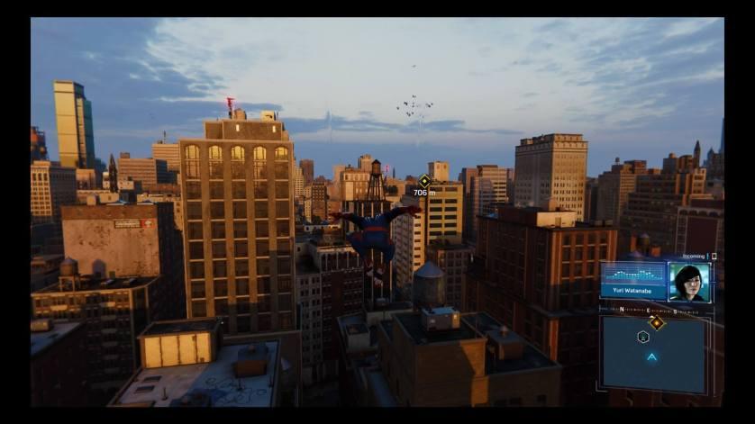 Toits Spider-Man PS4