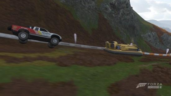 Forza Horizon 4 Xbox One hovercraft