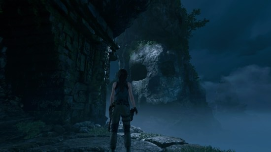 Shadow of the Tomb Raider crâne