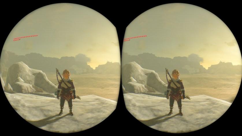 Nintedo VR kit - Zelda BOTW