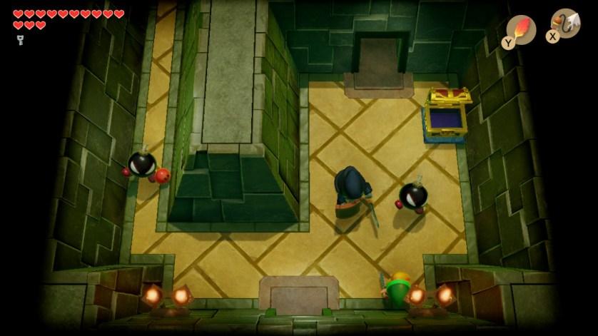 Link's Awakening switch donjon