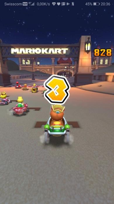 Mario kart tour mobile course