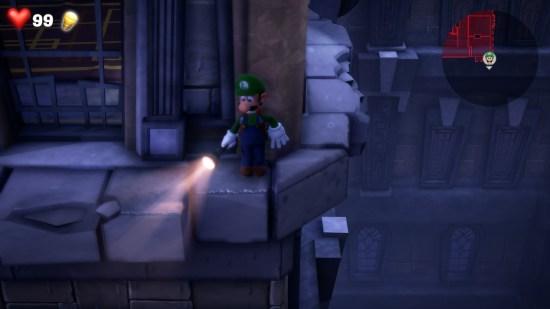 Luigi's Mansion 3 corniche