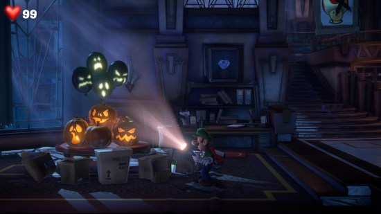Luigi's Mansion 3 halloween