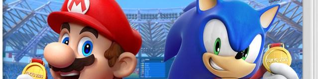Mario & Sonic aux jeux olympiques 2020 couverture