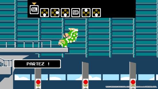 Mario & Sonic aux jeux olympiques 2020 plongeon
