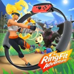 Le sueur de l'anneau [ Ringfit Adventure, Switch ]