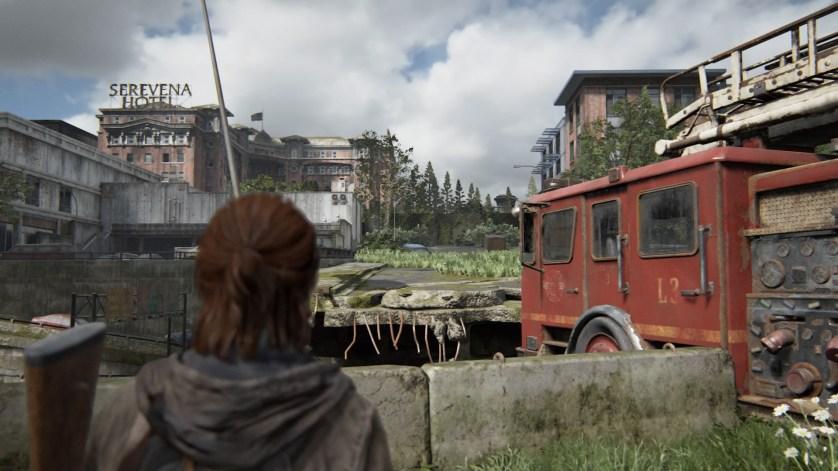 The Last of Us Part 2 décors